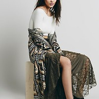 Free People Womens FP X She is Love Skirt