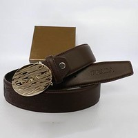 Boys & Men Prada Men Fashion Smooth Buckle Belt Leather Belt