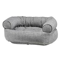 MicroLinen Double Donut Bolstered Dog Bed — Allumina