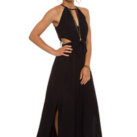 Rising Starlet Maxi Dress - Black