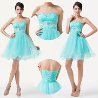 CHEAP Short Quinceanera Prom Cocktail Gowns Evening Party Homecoming Dress 2~16