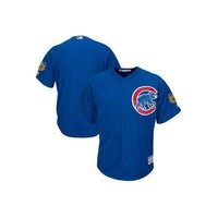 MLB Chicago Cubs Cool Base ? Cactus League Majestic Jersey