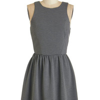 ModCloth Short Length Sleeveless A-line In the Swing Dress