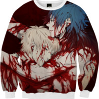 Noiz & Aoba - Noiz Bad Ending - DRAMAtical Murder created by Lavender Ghoul | Print All Over Me