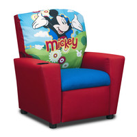 Disney Mickey Mouse Clubhouse Kid's Recliner