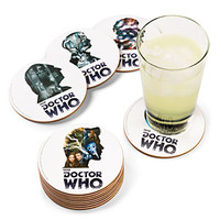 Doctor Who 12 Doctor Coaster Set