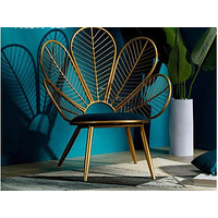 Peacock Feather Shaped Modern Chair