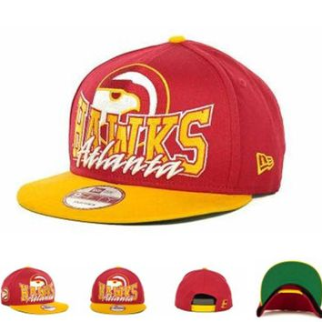 Perfect Atlanta Hawks NBA Cap Women Men Embroidery Sports Sun Hat Baseball Cap Hat