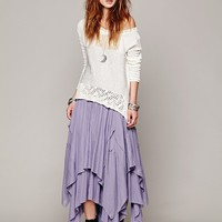 Free People Patched Beach Skirt