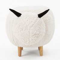 Christopher Knight Home Pearcy Velvet Sheep Ottoman - 20158286 - Overstock.com Shopping - Great Deals on Christopher Knight Home Ottomans