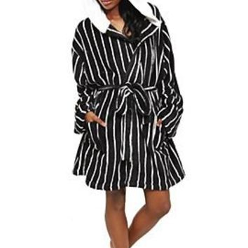 The Nightmare Before Christmas Jack Hooded Robe - 171136