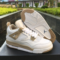 "Air Jordan 4 GS ""Linen"" Women Sneaker"