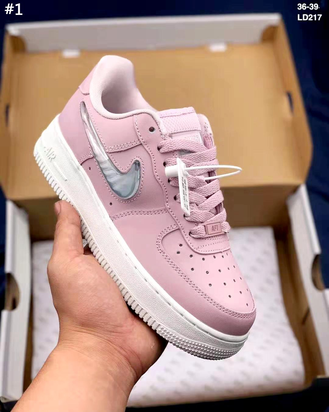 Image of NIKE AIR FORCE 1 tide brand men's and women's wild casual low-top shoes
