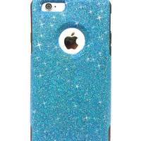 Custom iPhone 6 Plus Glitter Otterbox Commuter Cute Case,  Custom  Glitter  Raspberry / Black Otterbox Color Cover for iPhone 6 Plus