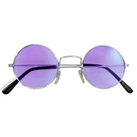 60's Style Round Sun Glasses on Sale for $5.95 at HippieShop.com