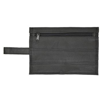 Genuine Leather Travel Money Pouch with Belt Loop #516
