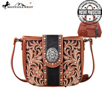 Montana West MW180G-8360 Concealed Carry Crossbody Bag