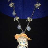 Sunny Sunday walk among the Summer Breezes  Clannad Tomoyo Anime Necklace repurposed