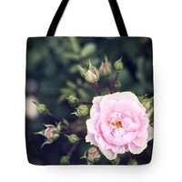 """You had me at hello - pink rose photo Tote Bag for Sale by Ivy Ho (18"""" x 18"""")"""