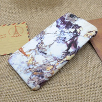 Retro Marble Stone Case Personal Tailor Cover for iPhone 7 7 Plus & iPhone 5s se & iPhone 6 6s Plus + Gift Box