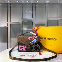 LV Louis Vuitton MONOGRAM CANVAS POCHETTE METIS INCLINED SHOULDER BAG