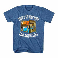 Step Brothers So Much Room Blue T-Shirt