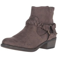 XOXO Womens Glorius Distressed Harness Ankle Boots