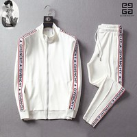 2019 Givenchy Men and Women Fashion Leisure Tracksuit Two Piece Suit Set
