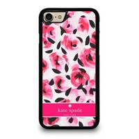KATE SPADE NEW YORK PINK ROSE iPhone 7 Case Cover