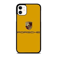 PORSCHE LOGO 3 iPhone 11 Case