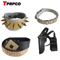 TPRPCO Choker Suicide Squad Harley Quinn Accessories Harley Quinn Necklace Puddin Bracelet Collar Harley Quinn Costume Cosplay