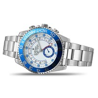 Rolex Trendy Gradient Color Dial Fashion Men's and Women's Casual Business Watches