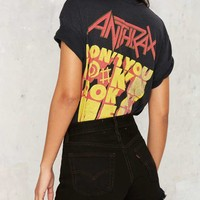 After Party by Nasty Gal Levi's 501 Cutoff Shorts - Black