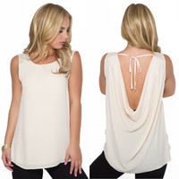 Back To The Beginning Top in Cream