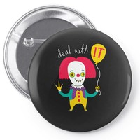 deal with it Pin-back button