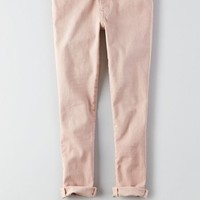 AEO Denim X Jegging Crop , Blush | American Eagle Outfitters