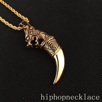 New Arrival Gift Jewelry Shiny Stylish Club Hip-hop Necklace [6542763075]