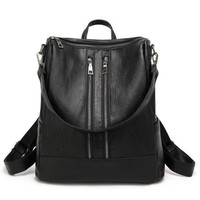 Sha Vegan Leather Backpack