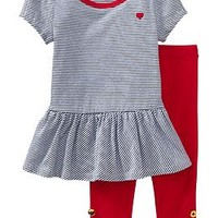Patterned Tunic & Legging Sets for Baby