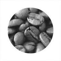 Coffee Photography, Coffee Lover, Kitchen Photography, Coffee Beans, LIMITED EDITION Circle Photo, Open Edition 8 x 8 Square Photo