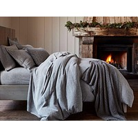 Organic Linen Chambray Bedding by Coyuchi