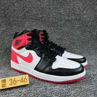 Women's and Men's NIKE Air Jordan 1 generation high basketball shoes  015