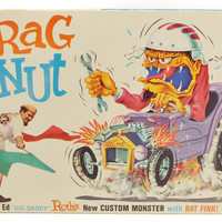 Vintage60s Ed Big Daddy Roth Drag Nut Custom Monster NIB Kit Model