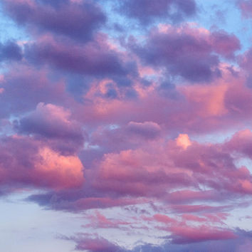 Pink And Purple Clouds Photograph by Kimberly Tilley - Pink And Purple Clouds Fine Art Prints and Posters for Sale