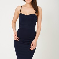 Midi Bodycon Dress in