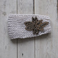 Knit Applique Headwrap