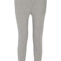 James Perse - Cotton French terry track pants