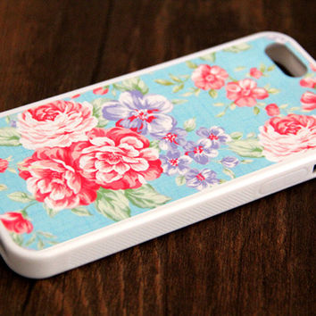 Free Shipping Classy Floral iPhone 6 Plus iPhone 6 iPhone 5S iPhone 5C iPhone 5 iPhone 4S/4 Rubber Case