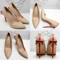 Elegant Thin Point Stiletto Heels