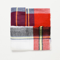 CHECKED SOFT SCARF